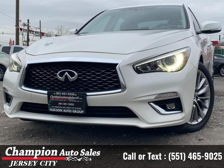 Used 2018 INFINITI Q50 in Jersey City, New Jersey | Champion Auto Sales. Jersey City, New Jersey