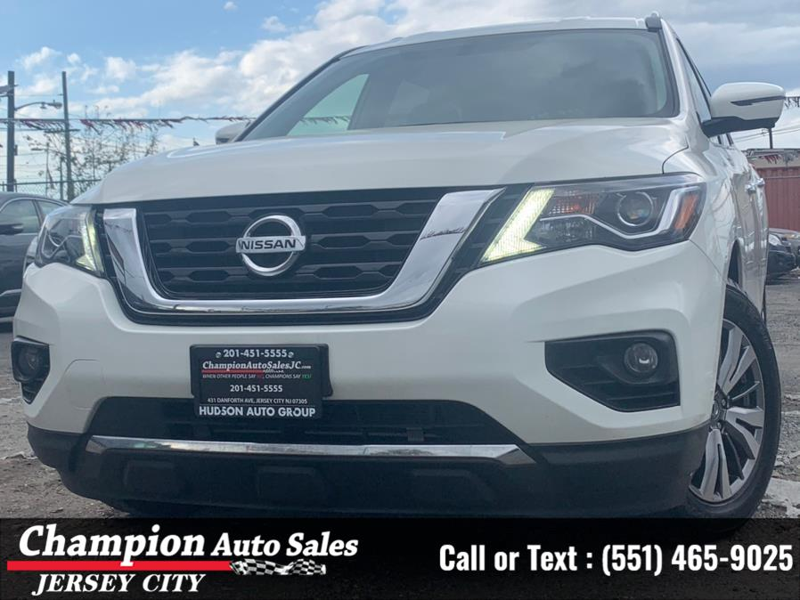2019 Nissan Pathfinder 4x4 SV, available for sale in Jersey City, NJ