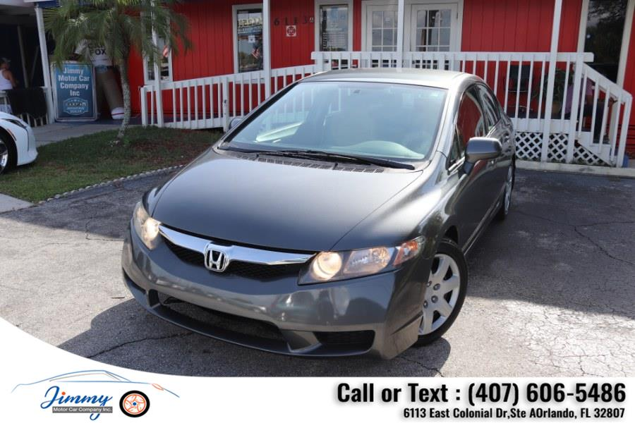 Used Honda Civic Sdn 4dr Auto LX 2010   Jimmy Motor Car Company Inc. Orlando, Florida