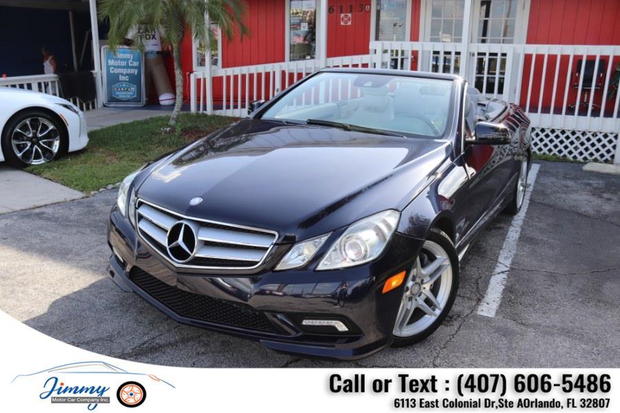 Used Mercedes-Benz E-Class 2dr Cabriolet E550 RWD 2011   Jimmy Motor Car Company Inc. Orlando, Florida