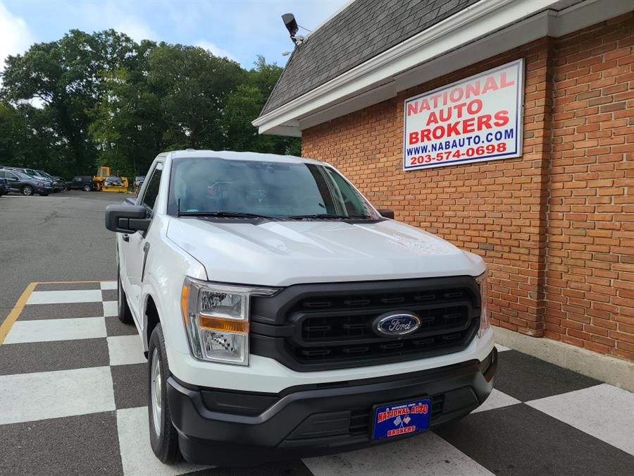 Used Ford F-150 XL 2WD Reg Cab 2021 | National Auto Brokers, Inc.. Waterbury, Connecticut