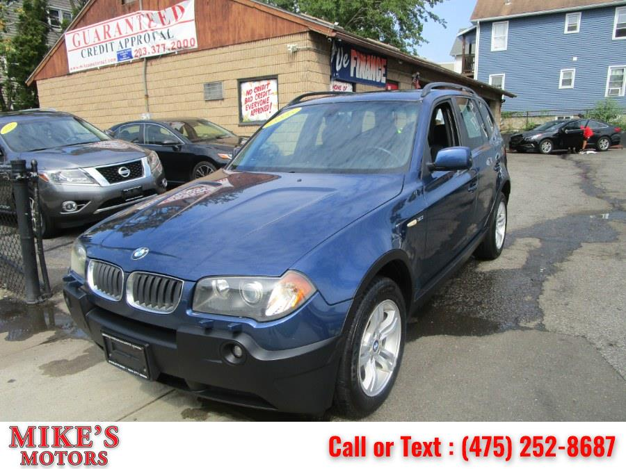 Used 2005 BMW X3 in Stratford, Connecticut | Mike's Motors LLC. Stratford, Connecticut