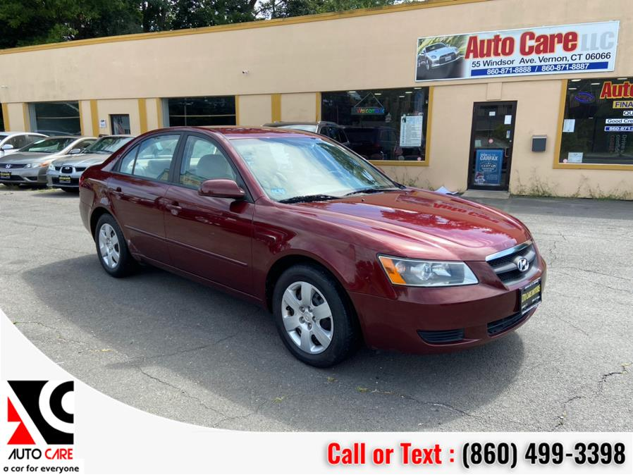 Used Hyundai Sonata 4dr Sdn Auto GLS *Ltd Avail* 2007 | Auto Care Motors. Vernon , Connecticut