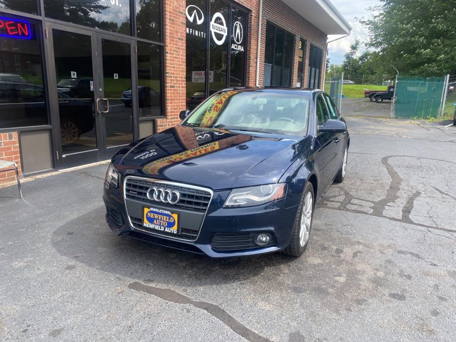 Used Audi A4 4dr Sdn Auto quattro 2.0T Premium  Plus 2011 | Newfield Auto Sales. Middletown, Connecticut