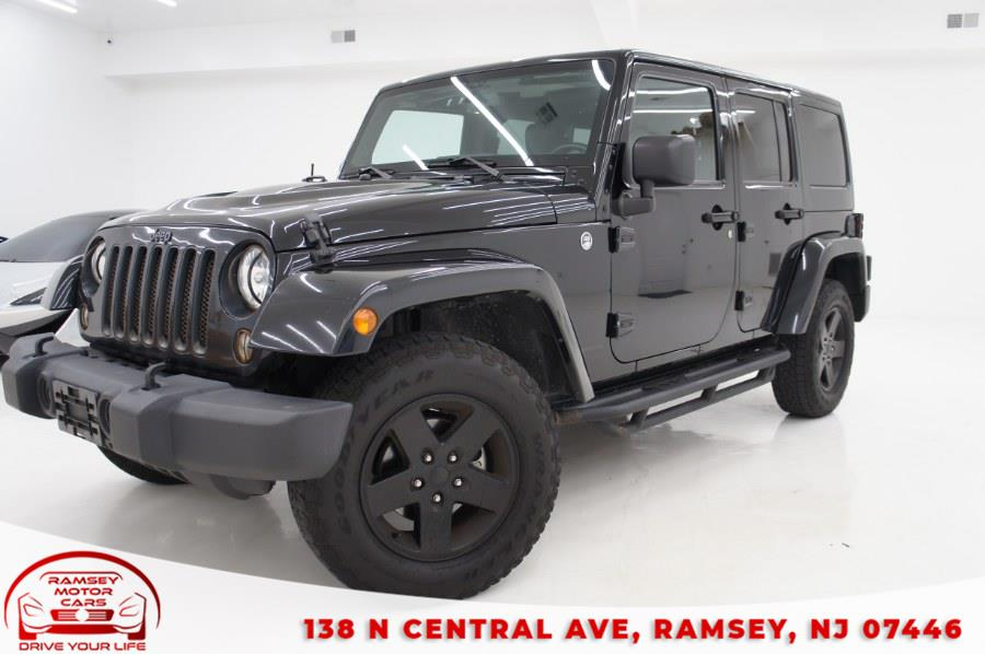 Used 2015 Jeep Wrangler Unlimited in Ramsey, New Jersey | Ramsey Motor Cars Inc. Ramsey, New Jersey
