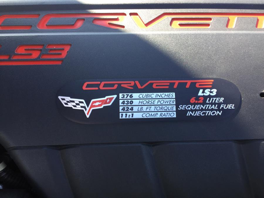 Used Chevrolet Corvette 2dr Conv w/1LT 2009   L&S Automotive LLC. Plantsville, Connecticut