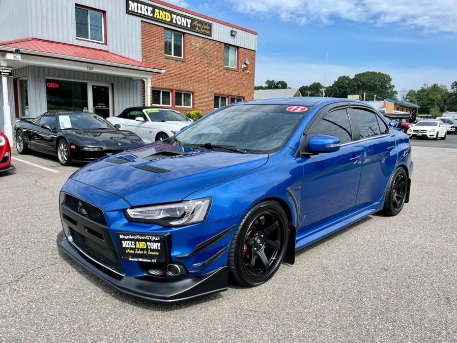 Used Mitsubishi Lancer Evolution 4dr Sdn TC-SST MR 2015   Mike And Tony Auto Sales, Inc. South Windsor, Connecticut