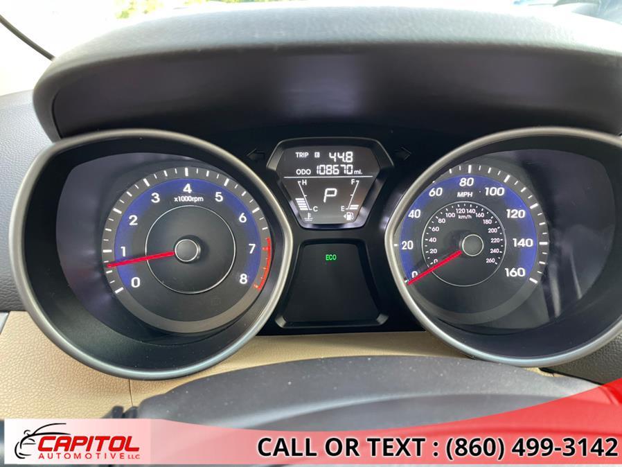 Used Hyundai Elantra 4dr Sdn Auto Limited 2013 | Capitol Automotive 2 LLC. Manchester, Connecticut