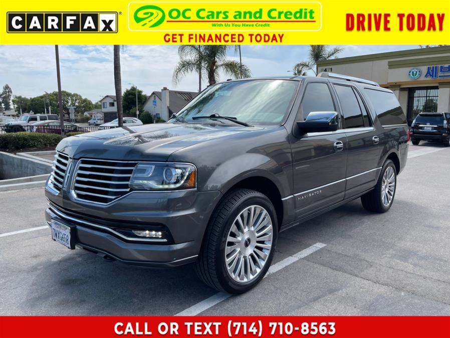 Used 2017 Lincoln Navigator L in Garden Grove, California | OC Cars and Credit. Garden Grove, California
