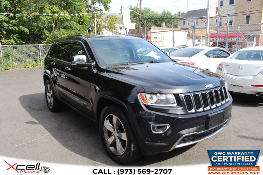Used Jeep Grand Cherokee Limited 4WD 4dr Limited 2014   Xcell Motors LLC. Paterson, New Jersey
