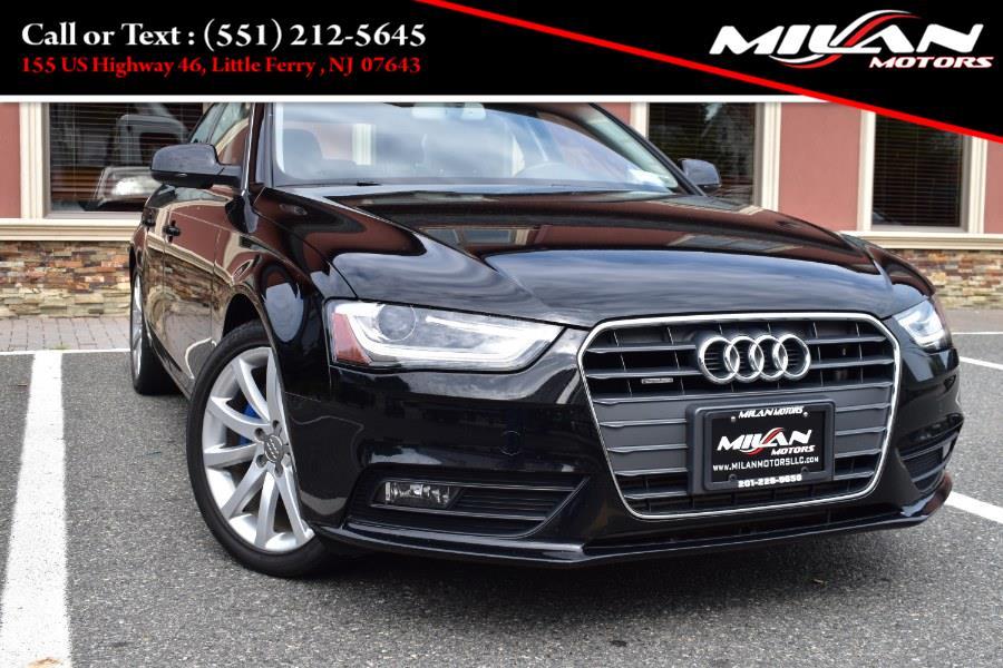 Used Audi A4 4dr Sdn Auto quattro 2.0T Premium Plus 2013 | Milan Motors. Little Ferry , New Jersey