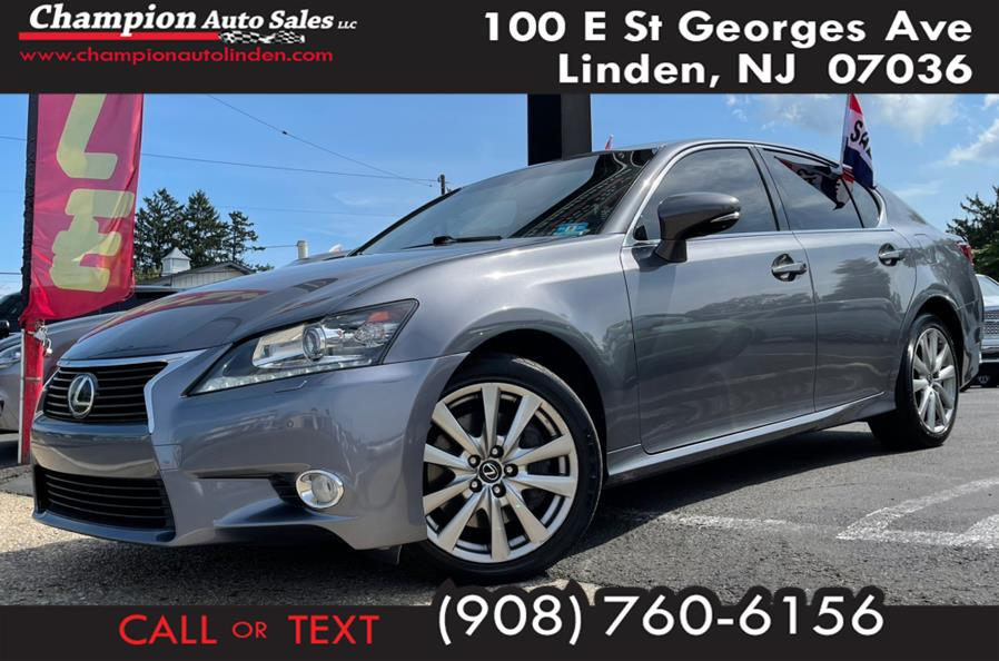 Used 2015 Lexus GS 350 in Linden, New Jersey | Champion Auto Sales. Linden, New Jersey