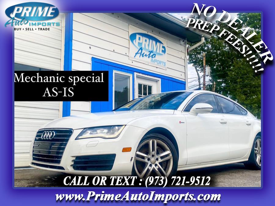Used 2012 Audi A7 in Bloomingdale, New Jersey | Prime Auto Imports. Bloomingdale, New Jersey