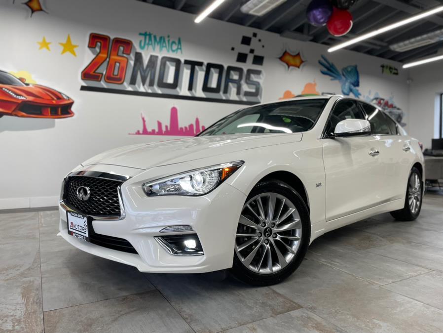 Used 2020 INFINITI Q50 LUXE in Hollis, New York | Jamaica 26 Motors. Hollis, New York