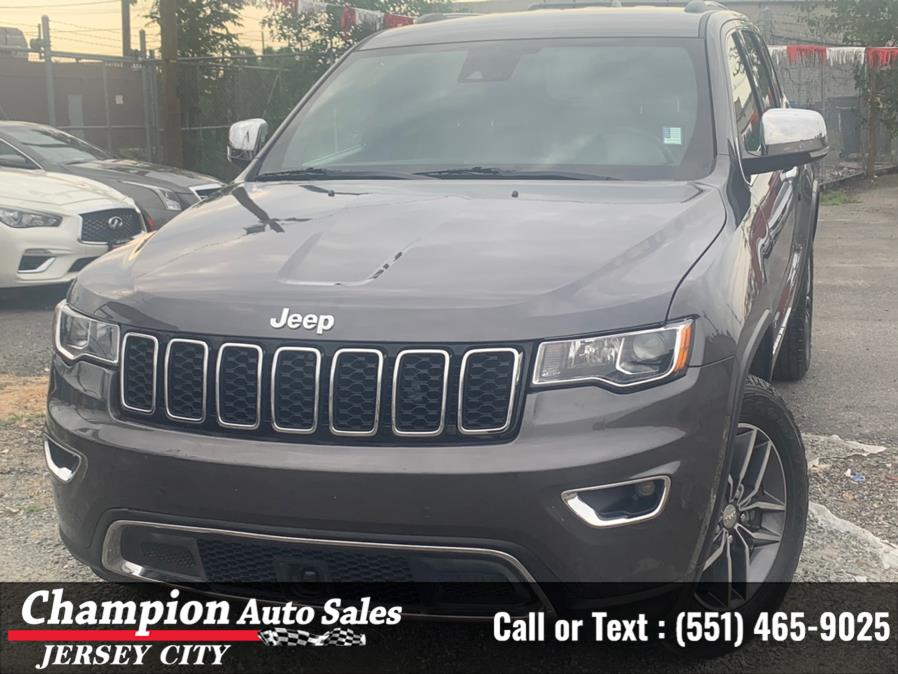 Used Jeep Grand Cherokee Limited 4x4 2018   Champion Auto Sales of JC. Jersey City, New Jersey