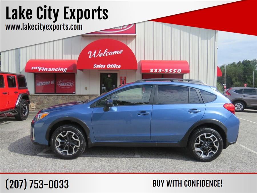 Used Subaru Crosstrek 2.0i Limited AWD 4dr Crossover 2016   Lake City Exports Inc. Auburn, Maine