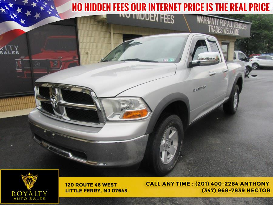 """Used Ram 1500 4WD Quad Cab 140.5"""" SLT 2012   Royalty Auto Sales. Little Ferry, New Jersey"""