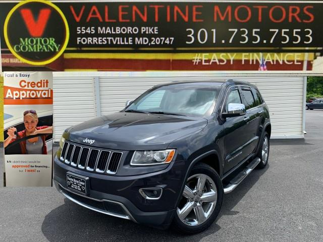 Used Jeep Grand Cherokee Limited 2014 | Valentine Motor Company. Forestville, Maryland
