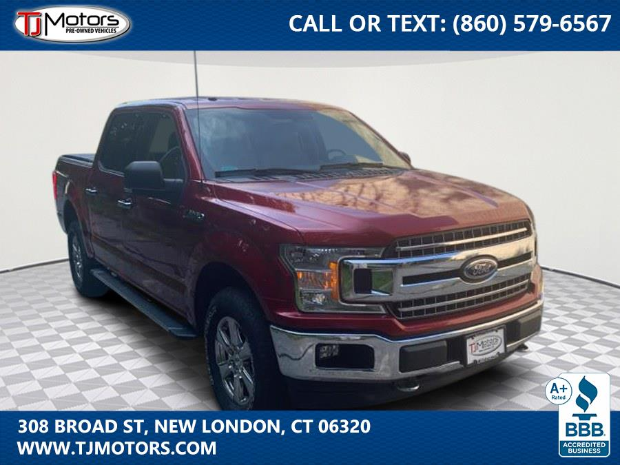 Used 2018 Ford F-150 in New London, Connecticut | TJ Motors. New London, Connecticut