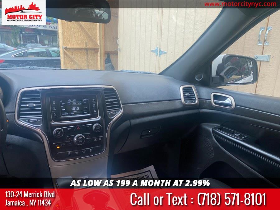 Used Jeep Grand Cherokee 4WD 4dr Laredo 2016 | Motor City. Jamaica, New York
