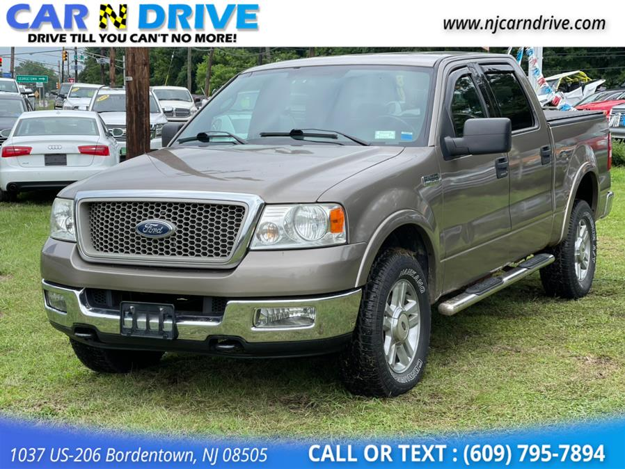 Used Ford F-150 Lariat SuperCrew 4WD 2004 | Car N Drive. Bordentown, New Jersey