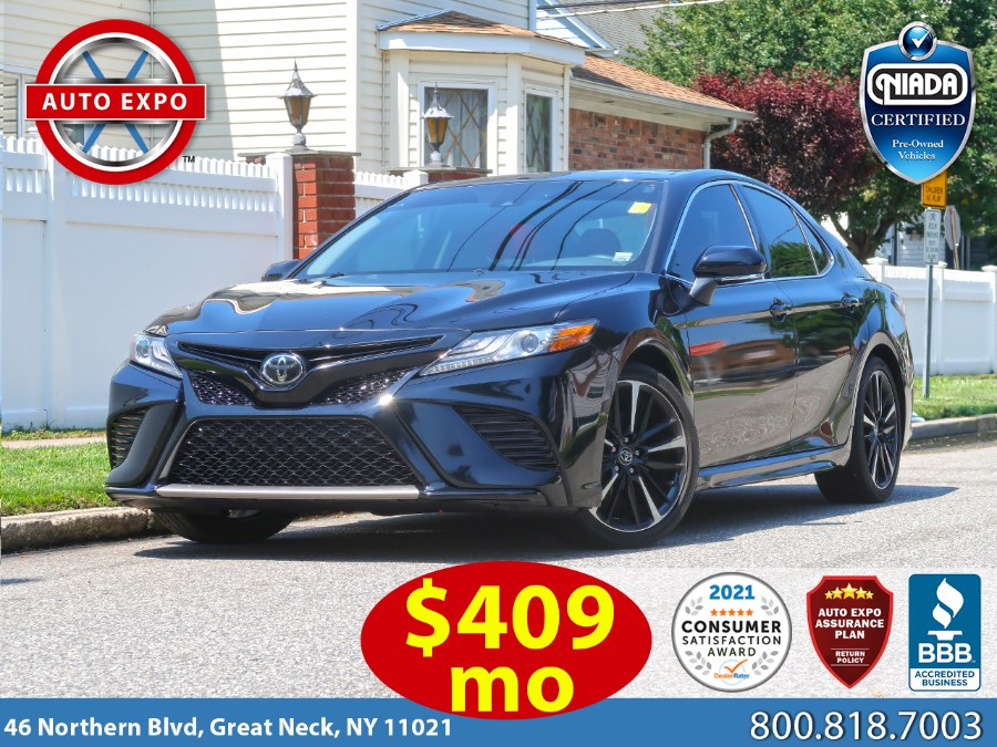 Used 2019 Toyota Camry in Great Neck, New York | Auto Expo Ent Inc.. Great Neck, New York