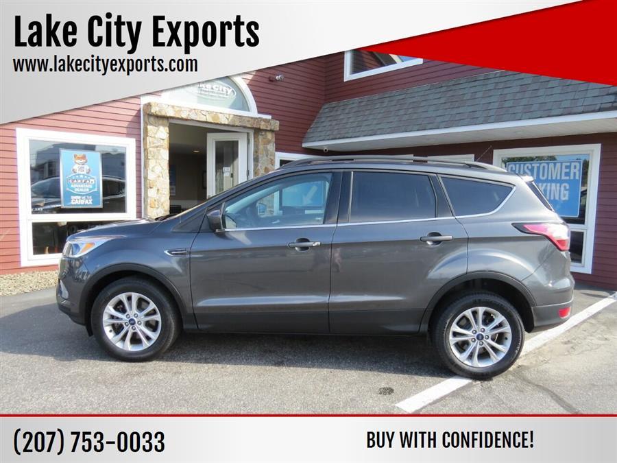 Used Ford Escape SE AWD 4dr SUV 2018 | Lake City Exports Inc. Auburn, Maine
