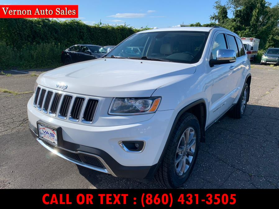 Used Jeep Grand Cherokee 4WD 4dr Limited 2015 | Vernon Auto Sale & Service. Manchester, Connecticut
