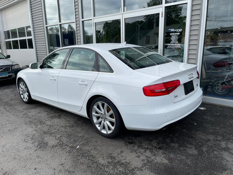 Used Audi A4 4dr Sdn Auto quattro 2.0T Premium Plus 2013   Chris's Auto Clinic. Plainville, Connecticut