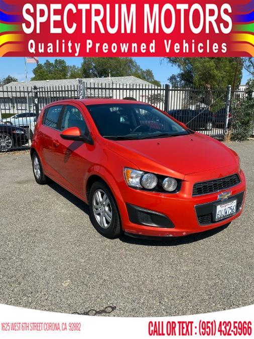 Used 2012 Chevrolet Sonic in Corona, California | Spectrum Motors. Corona, California