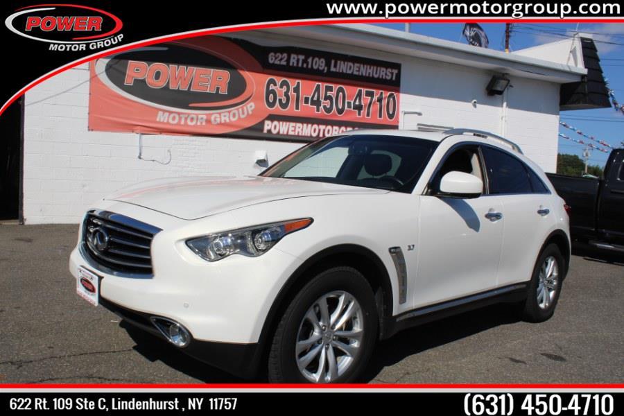 Used INFINITI QX70 AWD 4dr 2016 | Power Motor Group. Lindenhurst, New York