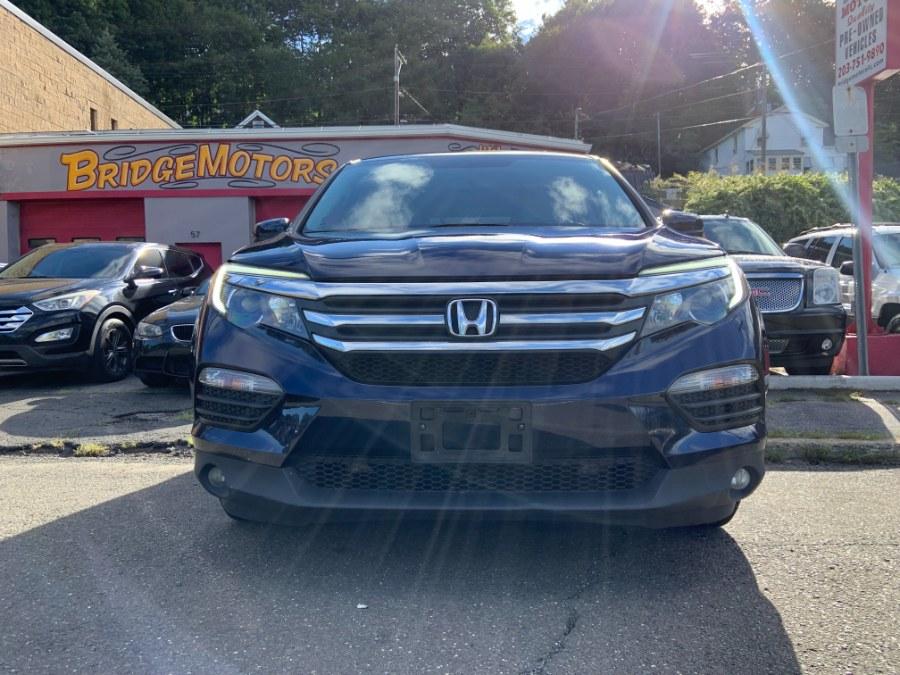 Used Honda Pilot EX-L w/Navigation AWD 2017   Bridge Motors LLC. Derby, Connecticut