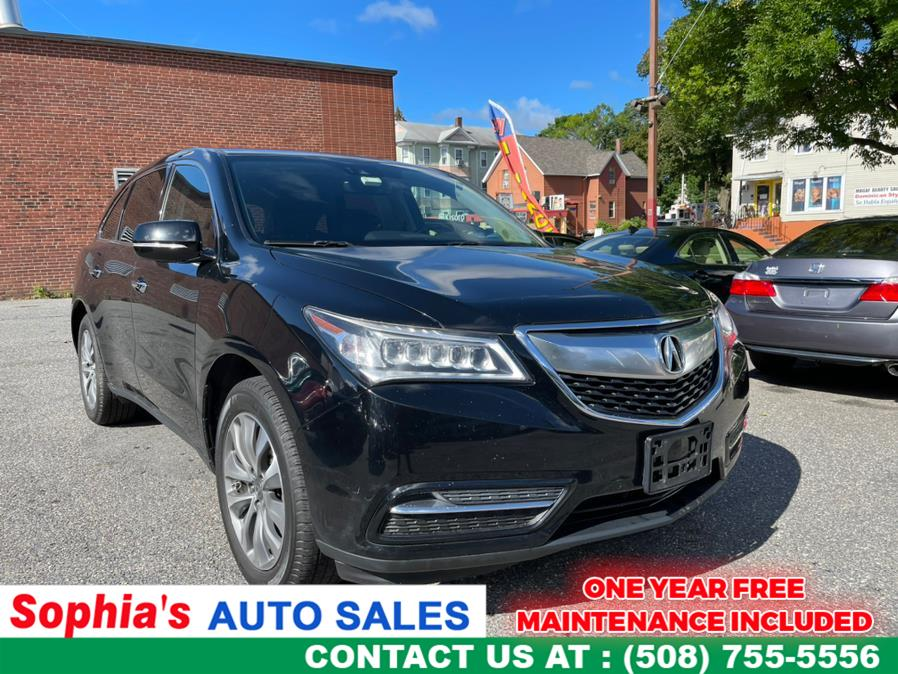 Used 2016 Acura MDX in Worcester, Massachusetts   Sophia's Auto Sales Inc. Worcester, Massachusetts