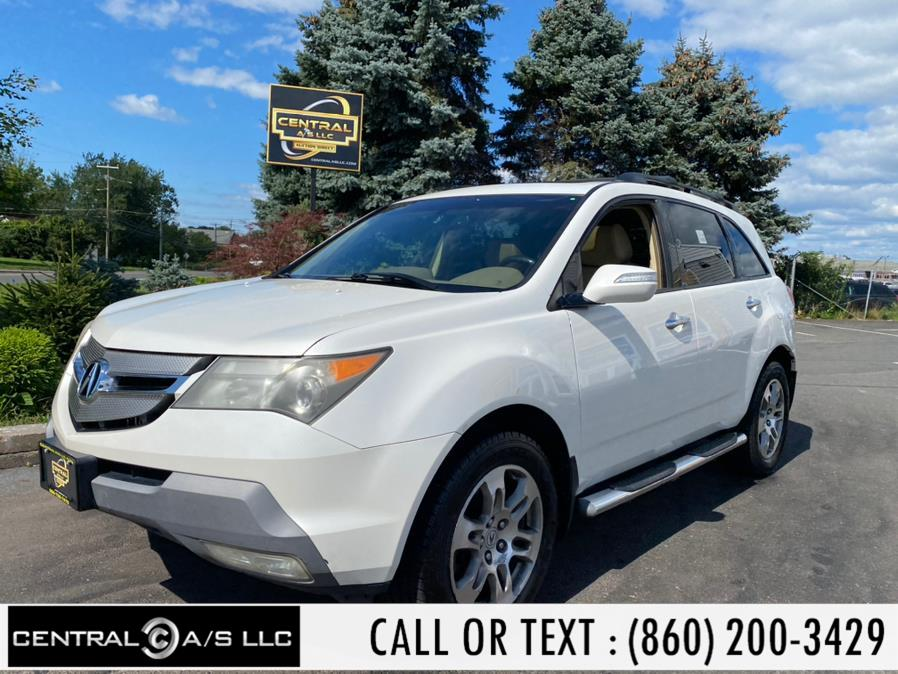 Used Acura MDX 4WD 4dr Tech Pkg 2008   Central A/S LLC. East Windsor, Connecticut