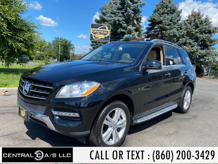 Used Mercedes-Benz M-Class 4MATIC 4dr ML 350 2015   Central A/S LLC. East Windsor, Connecticut