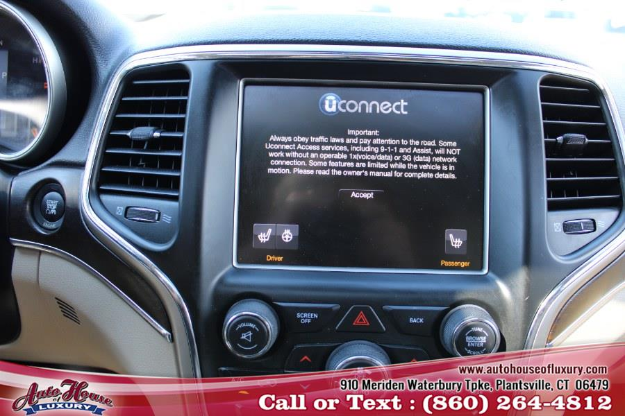 Used Jeep Grand Cherokee 4WD 4dr Limited 2014 | Auto House of Luxury. Plantsville, Connecticut