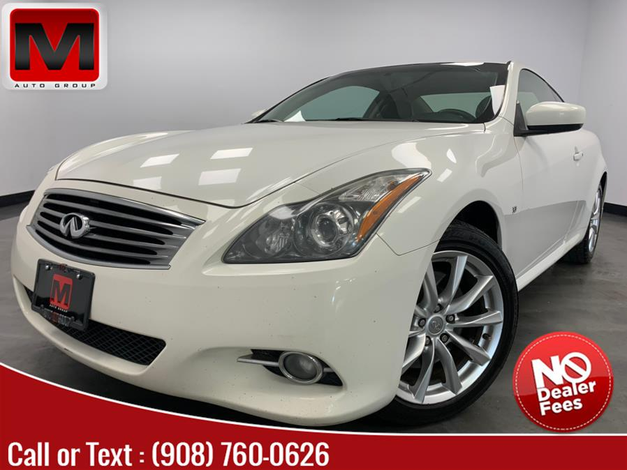 Used Infiniti Q60 Coupe 2dr Auto AWD 2014   M Auto Group. Elizabeth, New Jersey