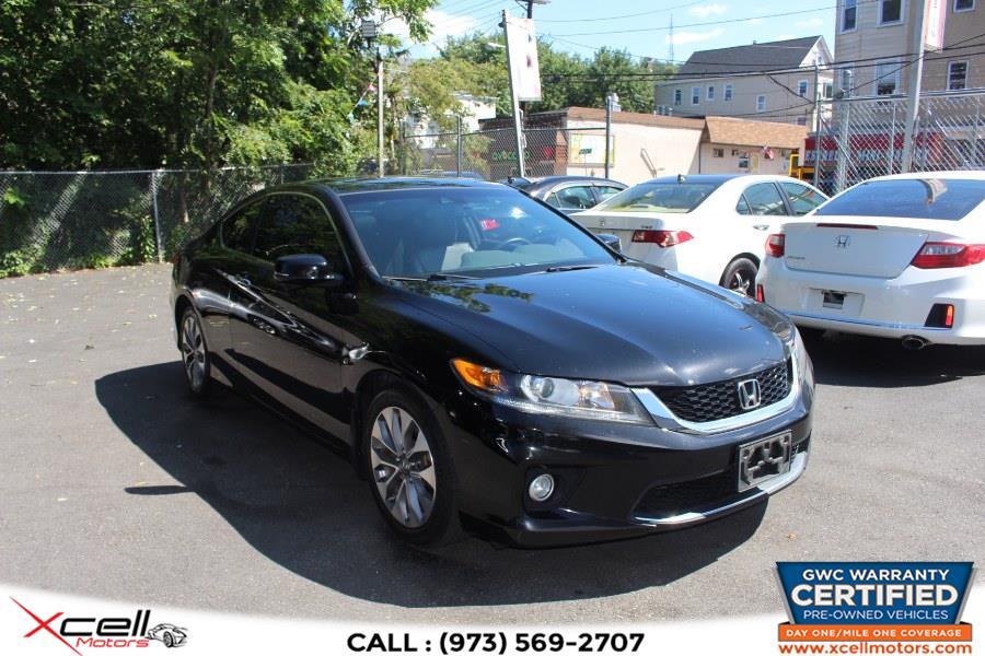 Used Honda Accord Cpe  EX-L w/Navi 2dr I4 Auto EX-L w/Navi 2013   Xcell Motors LLC. Paterson, New Jersey