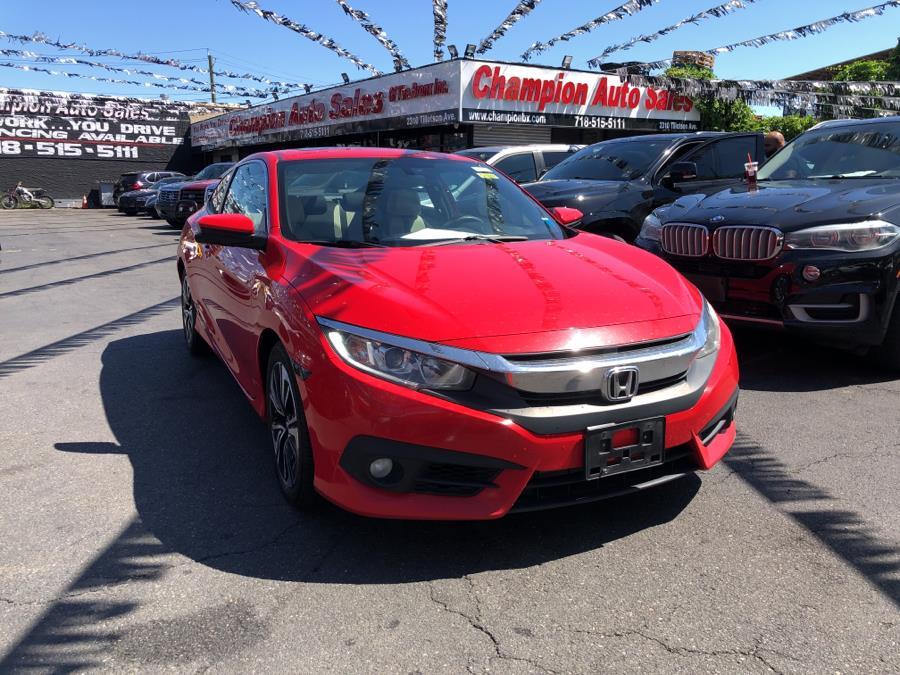 Used Honda Civic Coupe 2dr CVT EX-T 2016   Champion Auto Sales Of The Bronx. Bronx, New York
