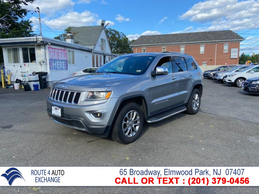 Used Jeep Grand Cherokee 4WD 4dr Limited 2015   Route 4 Auto Exchange. Elmwood Park, New Jersey
