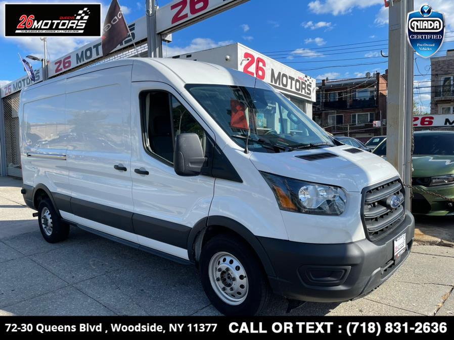 "Used Ford Transit Cargo Van T-250 148"" Med Rf 9070 GVWR AWD 2020 | 26 Motors Queens. Woodside, New York"