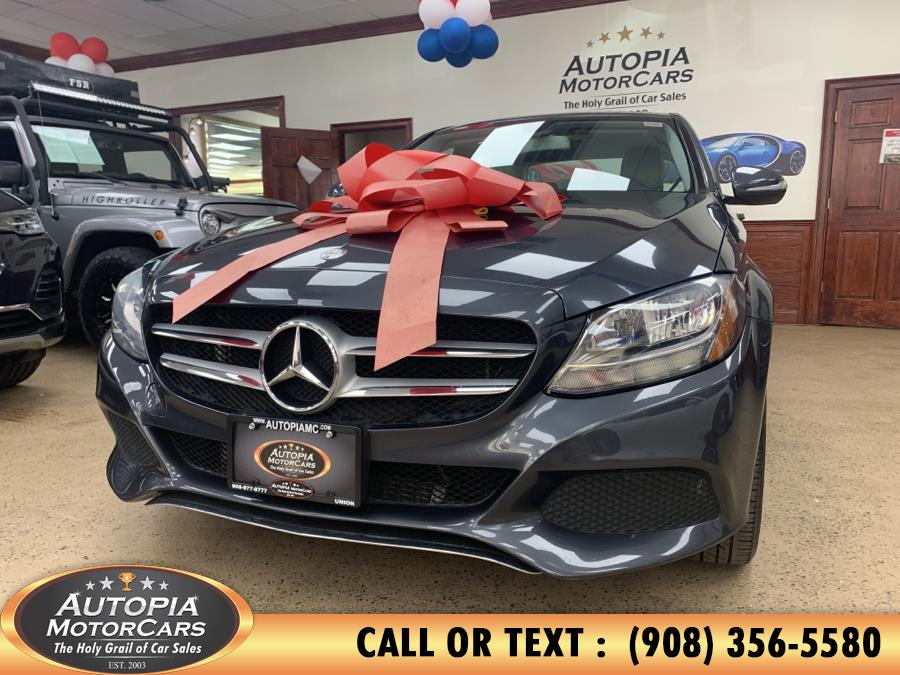 Used Mercedes-Benz C-Class 4dr Sdn C300 Sport 4MATIC 2015 | Autopia Motorcars Inc. Union, New Jersey