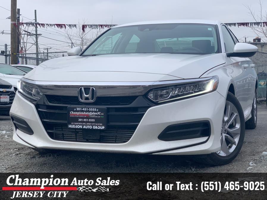 Used Honda Accord Sedan LX 1.5T CVT 2019   Champion Auto Sales of JC. Jersey City, New Jersey