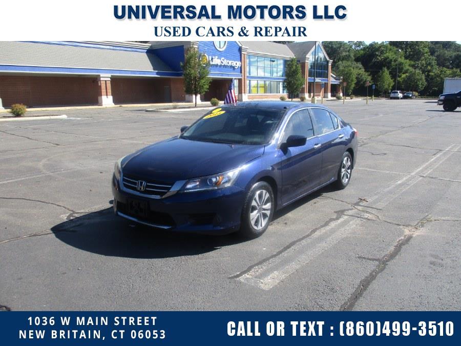 Used 2015 Honda Accord Sedan in New Britain, Connecticut | Universal Motors LLC. New Britain, Connecticut