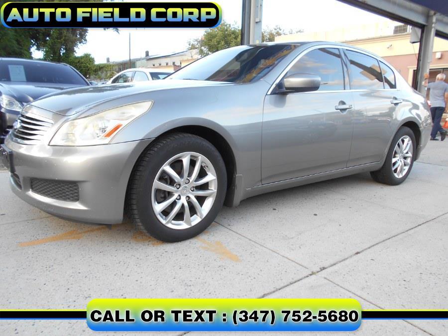 Used Infiniti G37 Sedan 4dr x AWD 2009   Auto Field Corp. Jamaica, New York