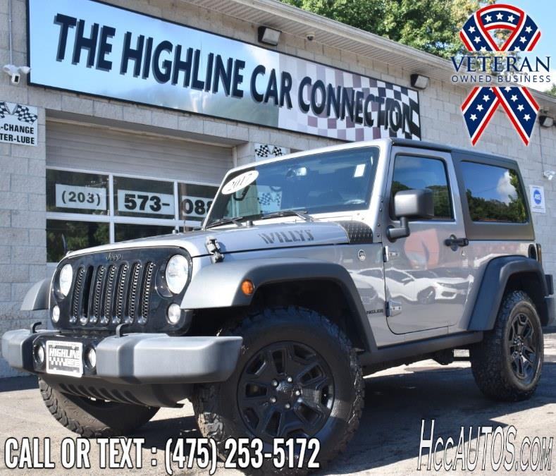 Used 2017 Jeep Wrangler in Waterbury, Connecticut | Highline Car Connection. Waterbury, Connecticut