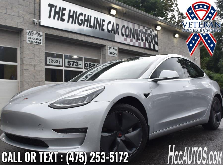 Used Tesla Model 3 Long Range Battery 2018 | Highline Car Connection. Waterbury, Connecticut