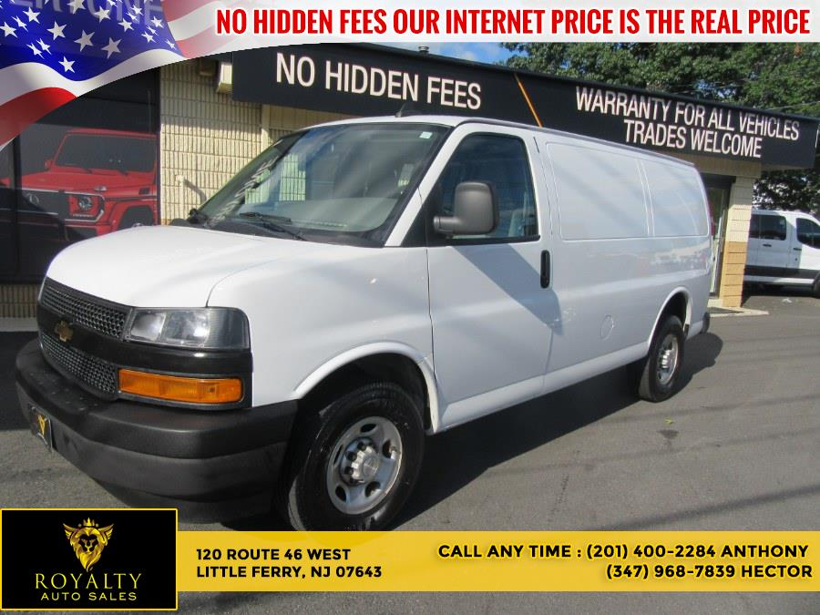 """Used Chevrolet Express Cargo Van RWD 2500 135"""" 2019   Royalty Auto Sales. Little Ferry, New Jersey"""