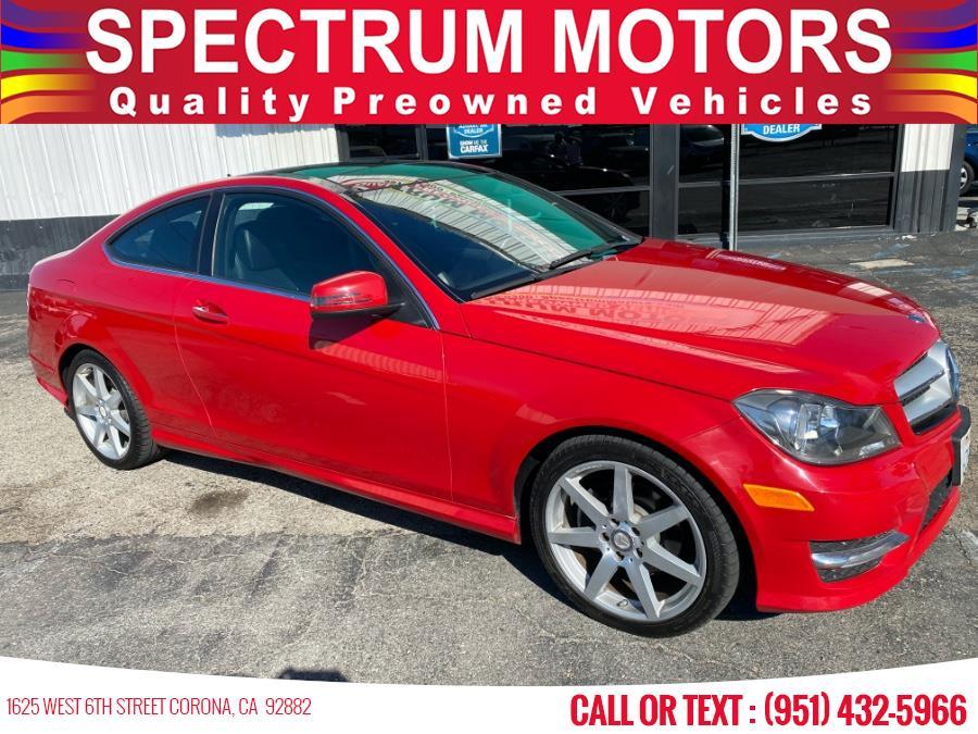 Used 2013 Mercedes-Benz C-Class in Corona, California | Spectrum Motors. Corona, California