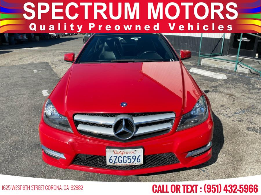Used Mercedes-Benz C-Class 2dr Cpe C250 RWD 2013 | Spectrum Motors. Corona, California